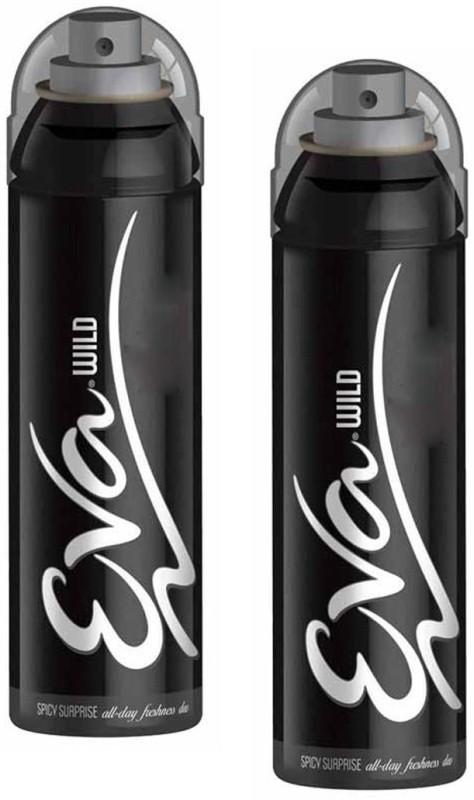 EVA Wild Spicy Surprise (Pack of 2) Deodorant Spray - For Women(125 ml, Pack of 2)