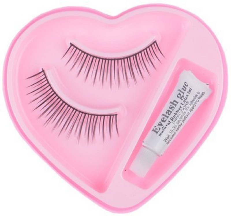 Confidence Parlour Accessories - All Type Accessories For Professional Parlour Use (Eyelashes With Glue)(Pack of 1)