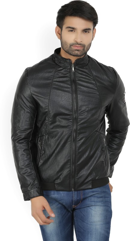 Fort Collins Full Sleeve Solid Mens Jacket