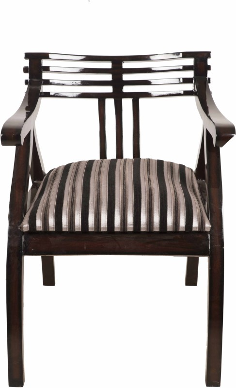 DZYN Furnitures DZYN Furnitures Solid Wood Living Room Chair(Finish Color - Brown)
