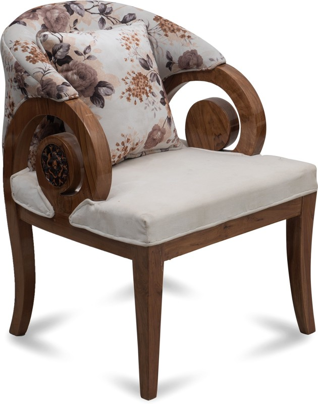 DZYN Furnitures DZYN Furnitures Solid Wood Living Room Chair(Finish Color - Multicolor)