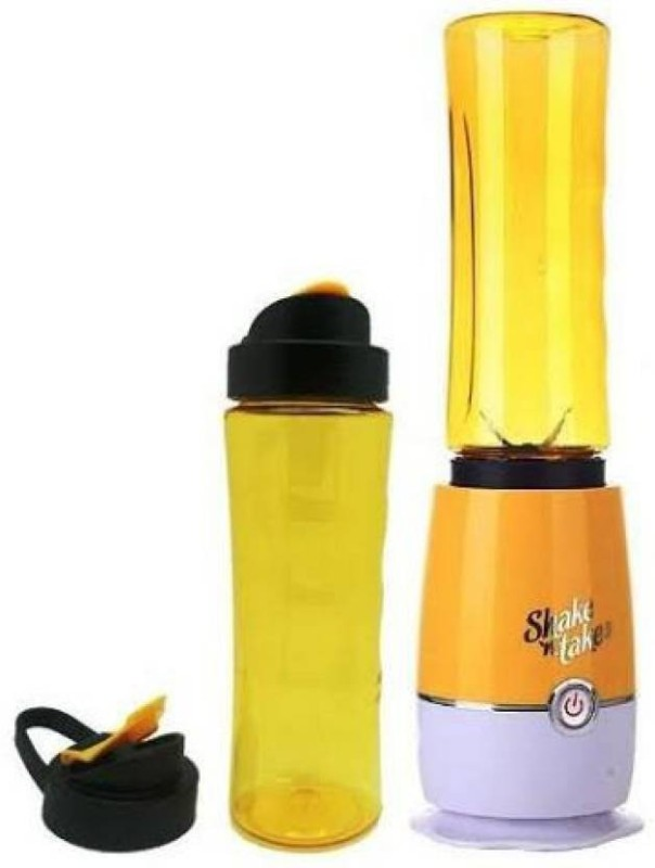 ZeeTeck Shake and Take 180 Juicer(Yellow, Green, Purple, 2 Jars)