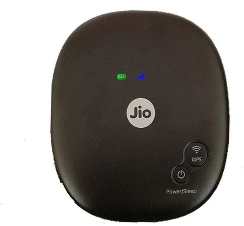 Jio JioFi 4 Router(Black) image