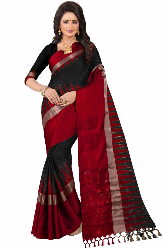 Bombey Velvat Fab Woven, Solid, Applique, Paisley, Embellished, Checkered, Self Design Kanjivaram...