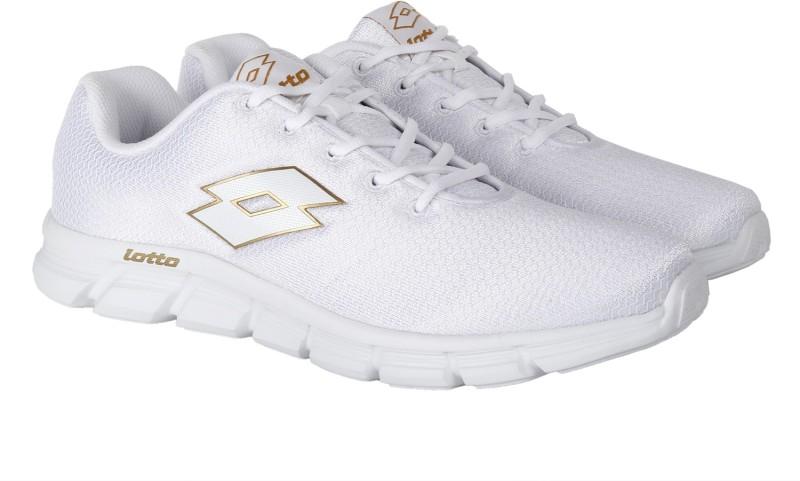 Lotto Vertigo Running Shoes For Men(White)