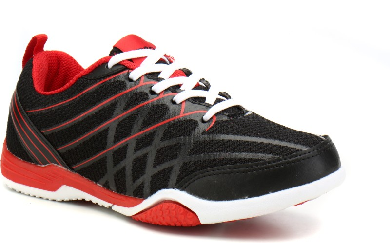 Sparx SL-100 Running Shoes For Women(Black, Red)