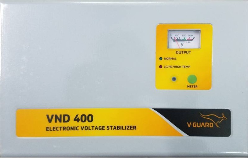 V Guard VND400 Durable Voltage Stabilizer for 1.5 Tonn AC (OMSAITRADERS)(Multicolor)