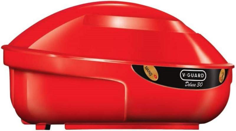 V Guard VGSJW 100 DURABLE Voltage Stabilizer (OMSAIRAMTRADERS)(Red)