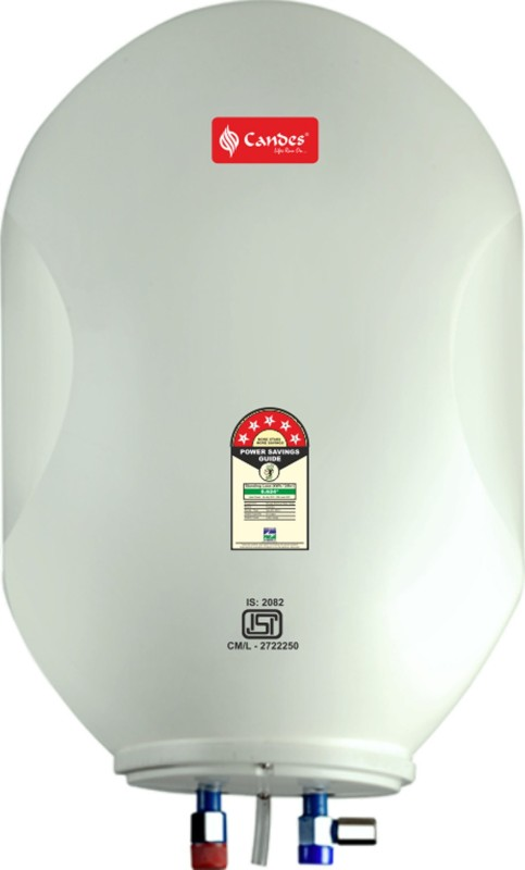 candes 10 L Electric Water Geyser(White, 10LABS)