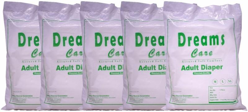 Dreams Care DC_L_5 Adult Diapers - L(5 Pieces)