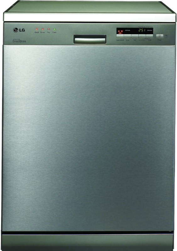 LG D1452 Free Standing 14 Place Settings Dishwasher