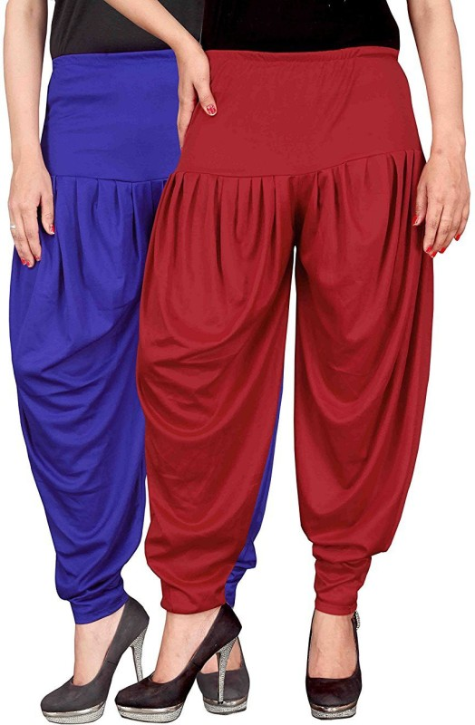 Navyataa Solid Lycra Womens Harem Pants