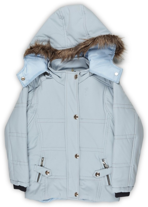 Fort Collins Full Sleeve Solid Girls Jacket