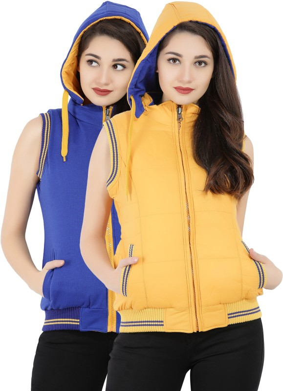 Fort Collins Sleeveless Solid Womens Jacket