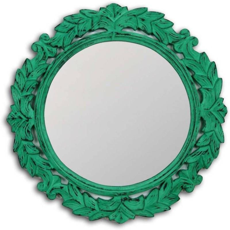 VAS Collection Home Home379jl Decorative Mirror(Round Finish : Glossy)