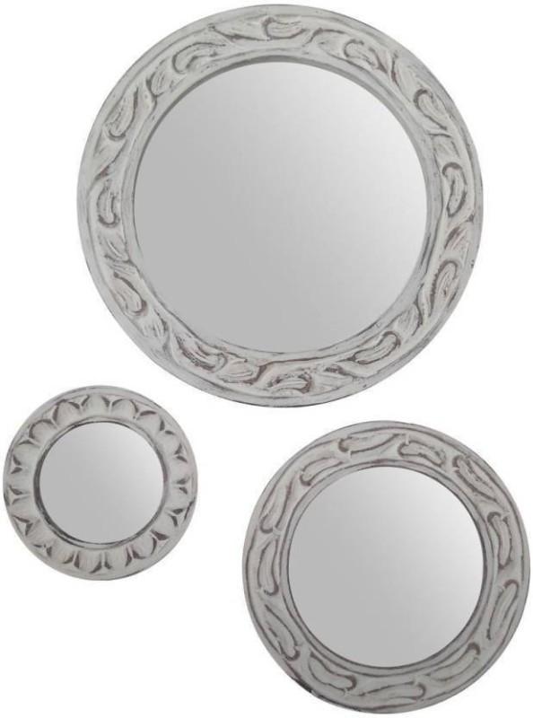 VAS Collection Home Home380onm Decorative Mirror(Designer Finish : Glossy)