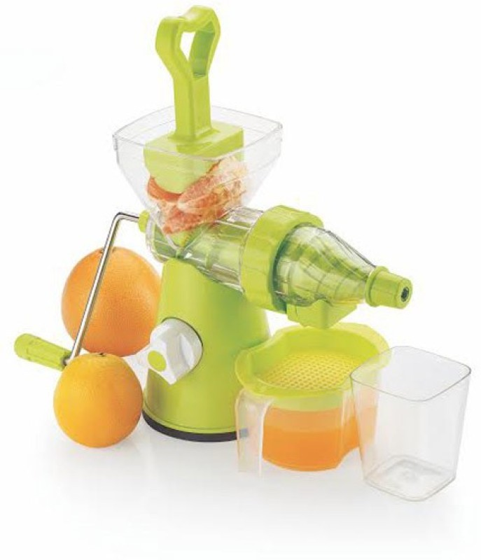 SARANGWARE Fruit & Vegetable Mixer Juicer With Steel Handle 0 Juicer(Multicolor, 1 Jar)