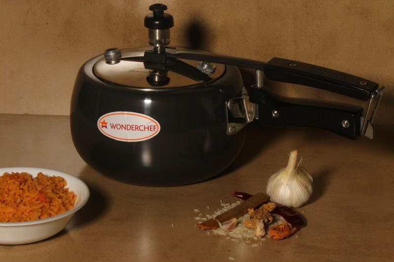 Wonderchef Raven 2 L Pressure Cooker(Stainless Steel)
