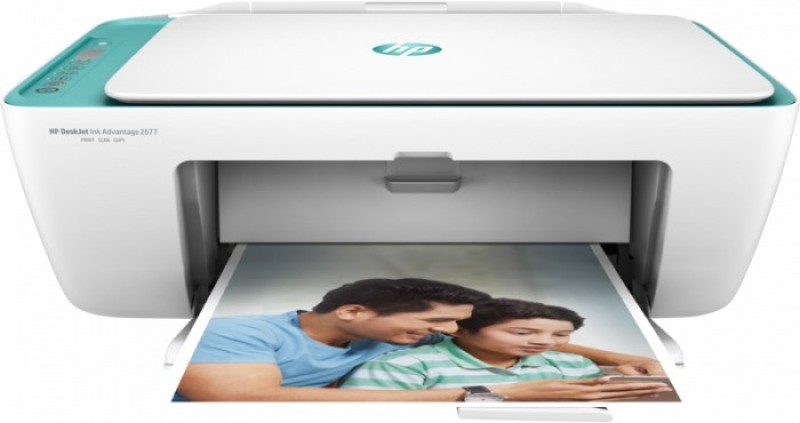 HP 2677 Multi-function Printer(White)