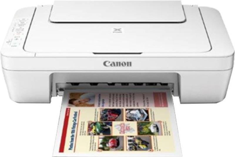 Canon MG3077S Multi-function Printer(White)