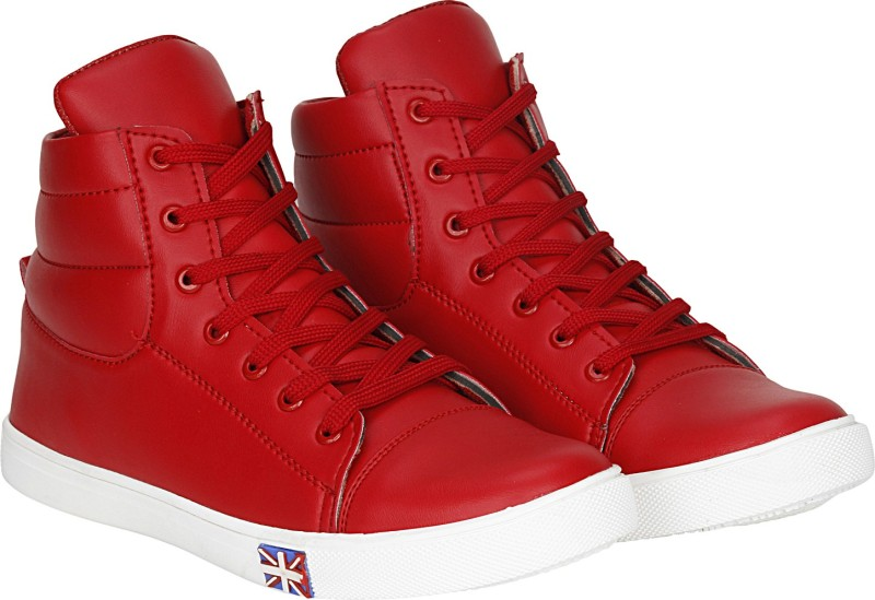 Kraasa Kate Boots, Sneakers, Casuals, Dancing Shoes(Red)