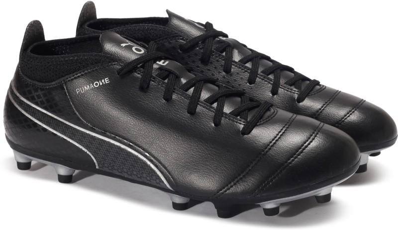 Puma ONE 17.4 FG Football Shoes For Men(Black)