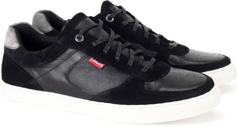 Levis NY Runner Sneakers For Men(Black)