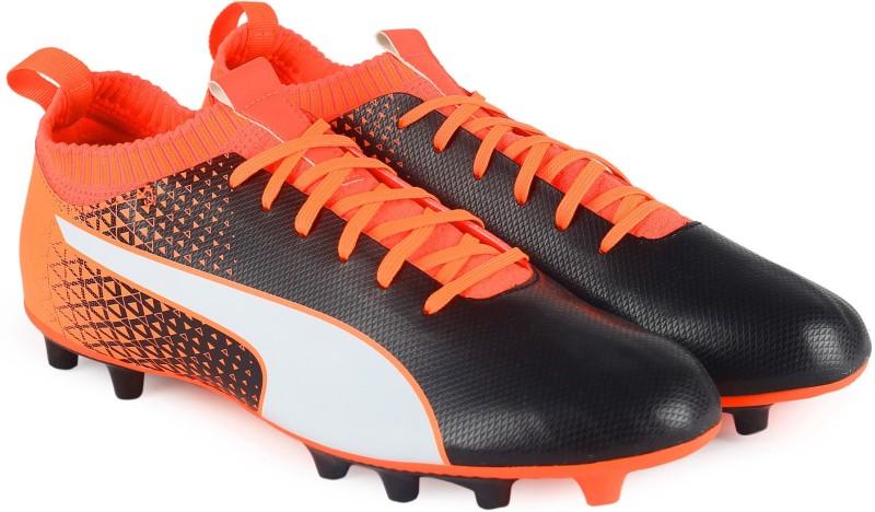 Puma evoKNIT FTB AG Football Shoes For Men(Black)