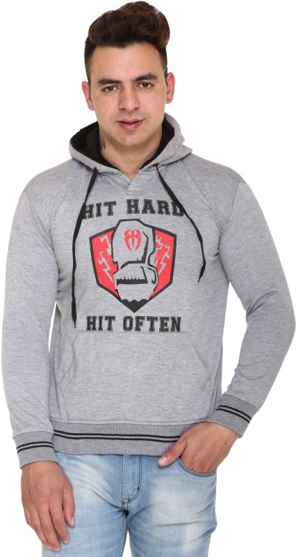 HARDIHOOD Full Sleeve Printed Men Reversible Sweatshirt