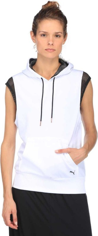 Puma Sleeveless Solid Women Sweatshirt