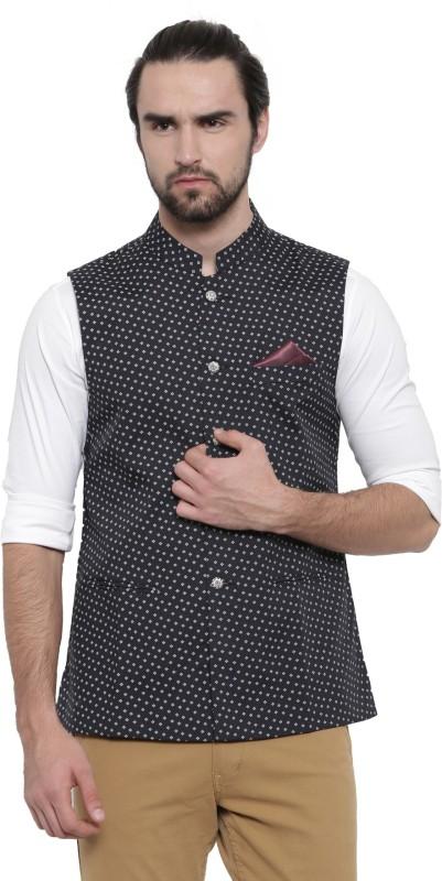 Showoff Sleeveless Printed Men Jacket