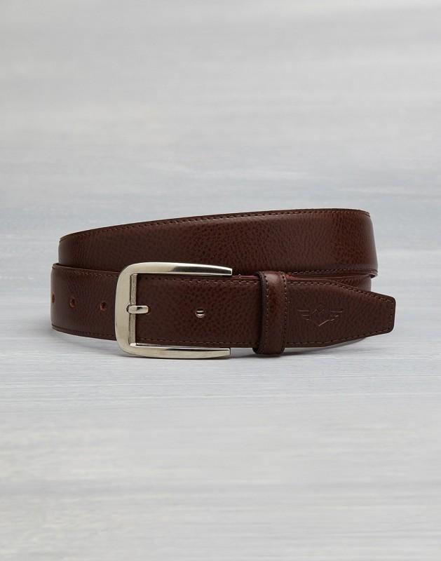 Metronaut Men Casual Brown Texas Leatherite Belt
