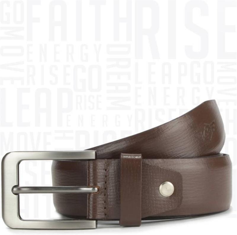 Metronaut Men Casual Brown Genuine Leather Belt