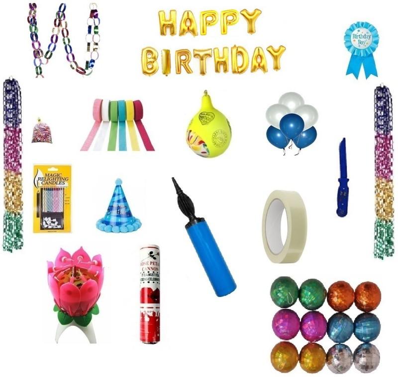 Shreeji Decoration Quality Birthday Kit For Boy(109)