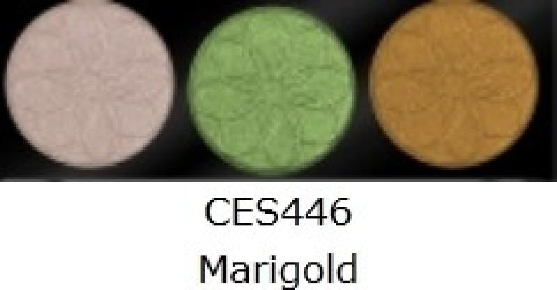 L.A. Colors 3 Color Eyeshadow 4 g(Marigold)