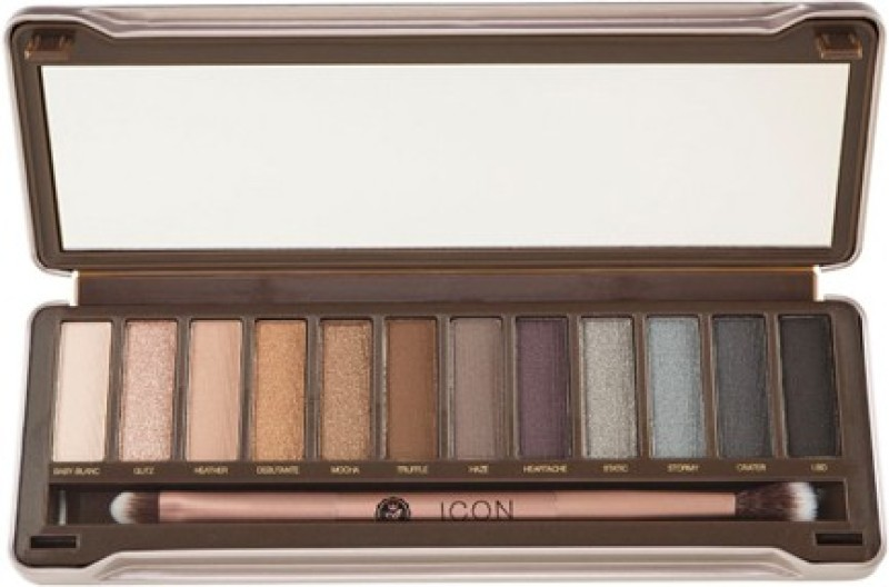 Absolute Icon Eyeshadow Palette 13.2 g(Smoked)