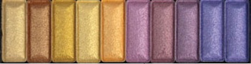 L.A. Girl Cosmetics Collection High Definition 10 Color Palette 10 g(Nightlife)