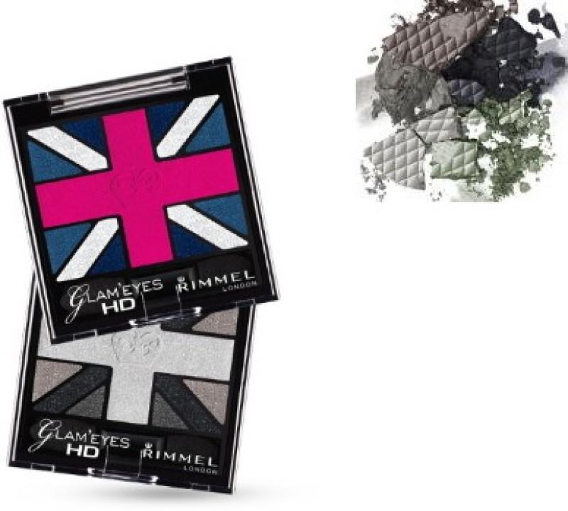 Rimmel London GlamEyes Hd Eyeshadows 2.5 g(Black Cab)