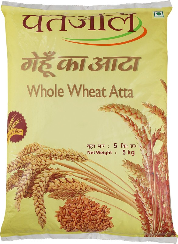 Patanjali Whole Wheat Atta(5 kg)