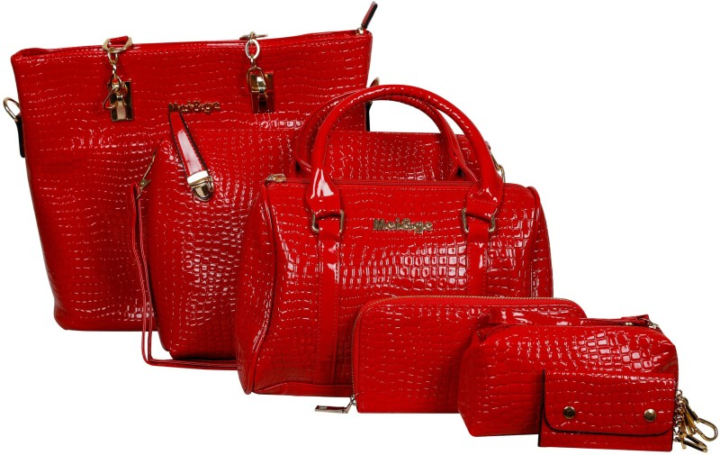 Mei&Ge Women Red Shoulder Bag