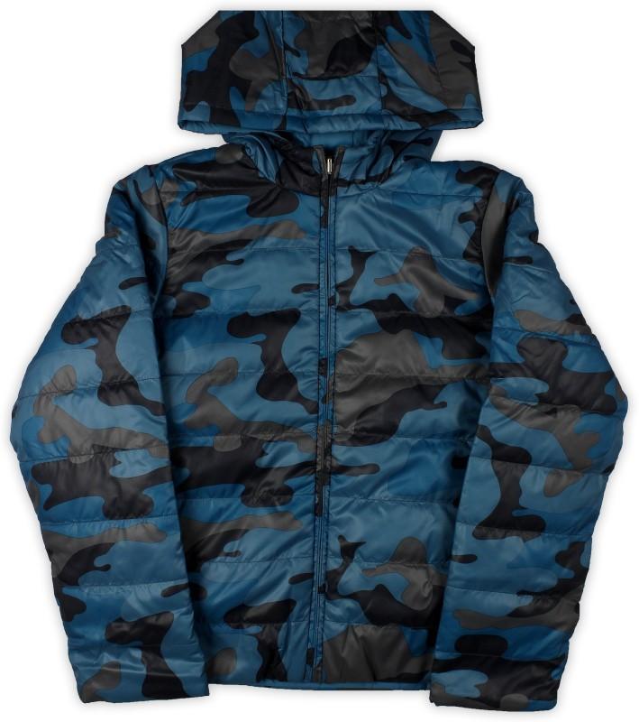 United Colors of Benetton Full Sleeve Printed Boys Jacket