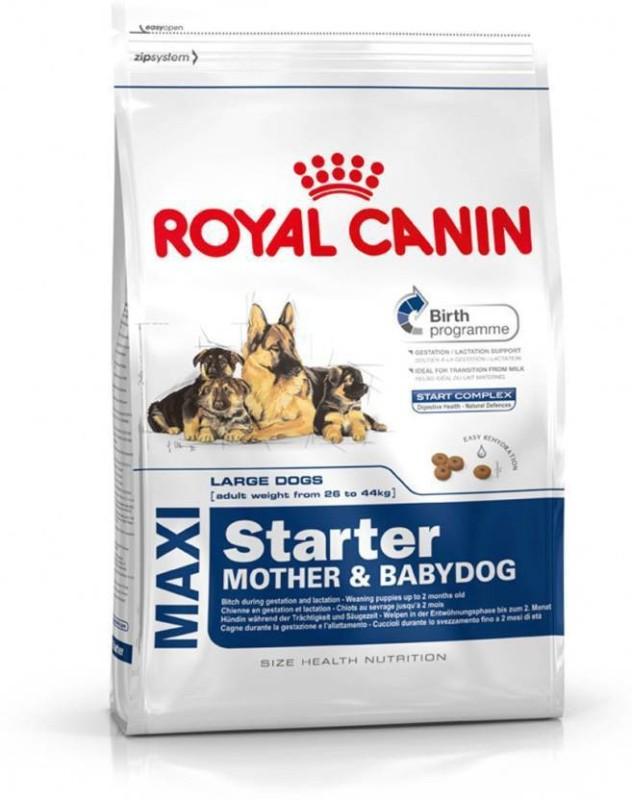 Royal Canin maxi starter mother & babydog Chicken, Milk 15 kg Dry Dog Food