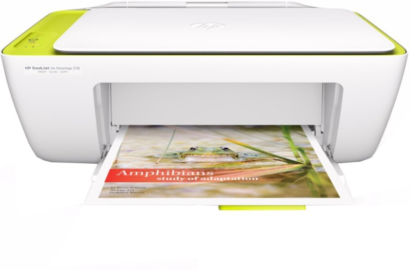 HP DeskJet Ink Advantage 2138 Multi-function Printer(White)