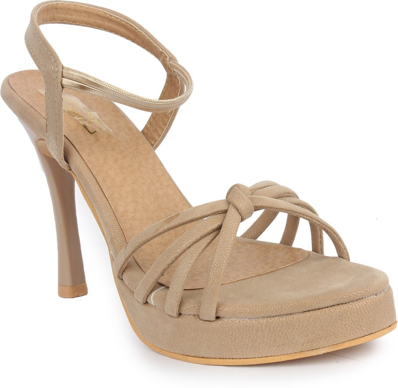 London Steps Women Beige Heels