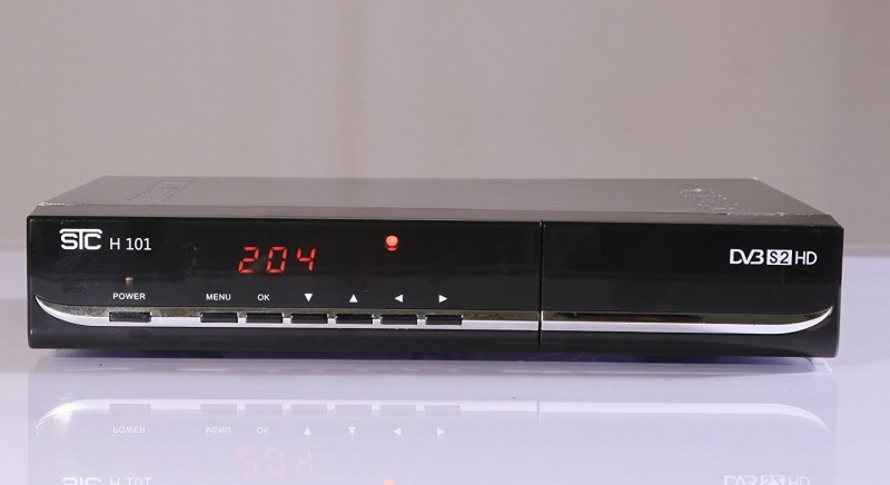 STC DIgital HD Set Top Box H-101 (1 Year Warranty + Unlimited Recording) LIFE TIME FREE Plug and Play Satellite Radio