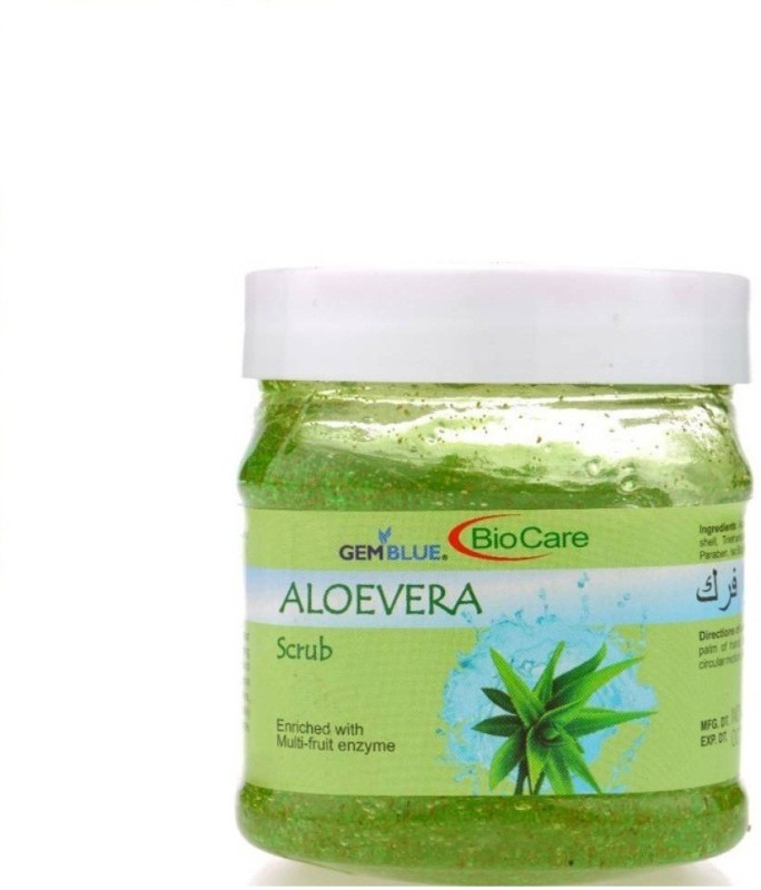 Biocare ALOEVERA Enriched with Multi-fruit enzyme 500ml Scrub(500 ml)