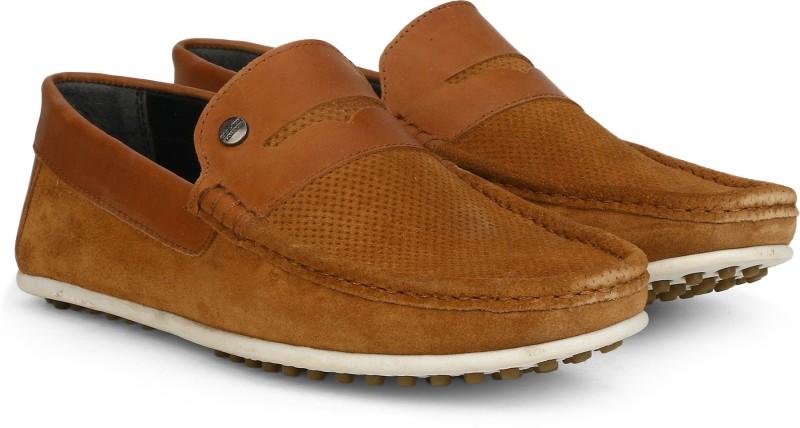 Carlton London CLM-1447 Loafers For Men(Tan)
