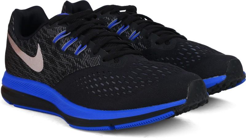 Nike ZOOM WINFLO 4 Running Shoes For Men(Black)