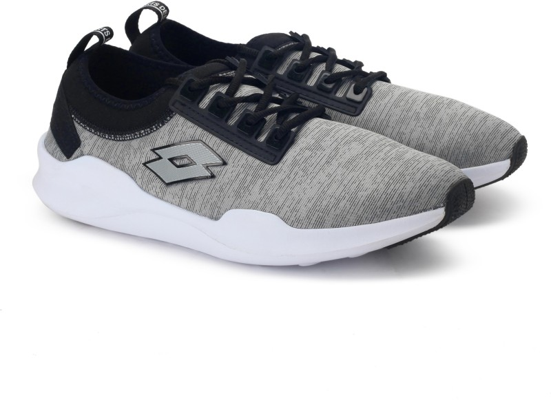 Lotto Amerigo Running Shoes For Men(Black, Grey)
