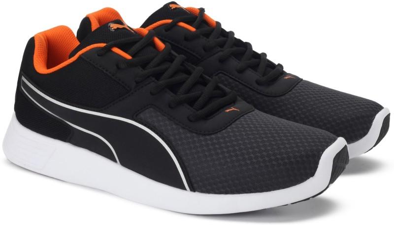 Puma Kor Sneakers(Black, Orange)